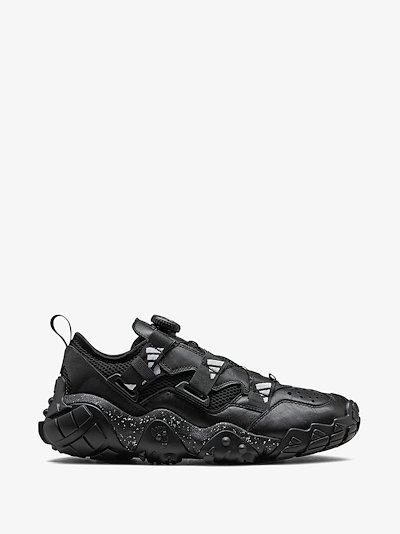 X HYKE black AH-002 XTA FL sneakers