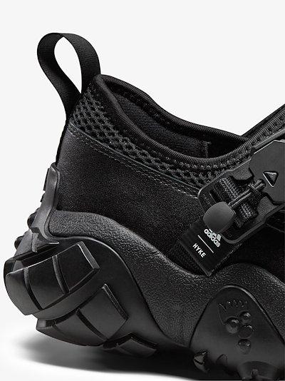 X HYKE black AH-003 XTA sneakers