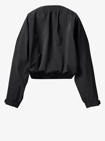 X HYKE bolero jacket