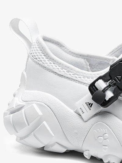 X HYKE white AH-003 XTA sandals