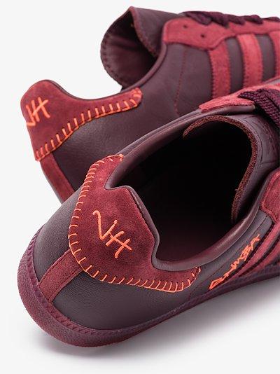 X Jonah Hill red Samba sneakers