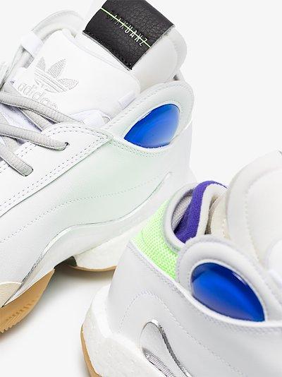 X Sankuanz Crazy white high top sneakers