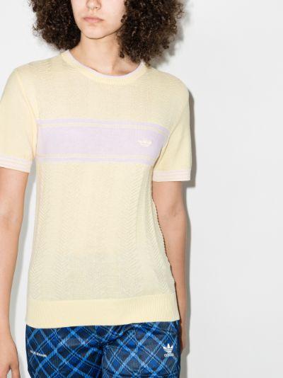 X Wales Bonner Logo Knit T-shirt