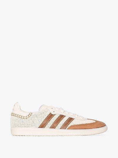 X Wales Bonner neutral Samba sneakers