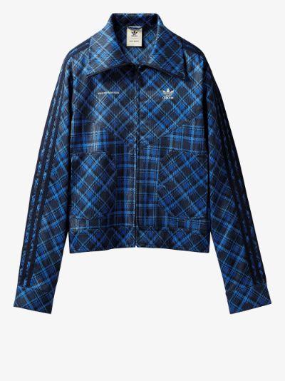 X Wales Bonner tartan jacket
