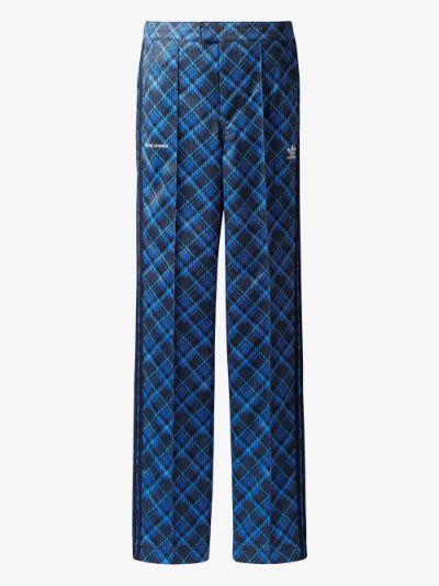 X Wales Bonner tartan track pants
