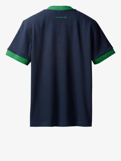 X Wales Bonner V-neck Logo T-shirt