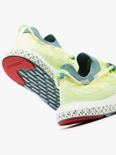 Yellow 4D Fusio Sneakers