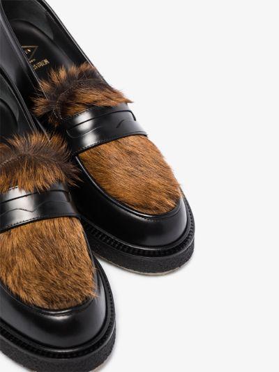 X Très Bien black Type 5 loafers