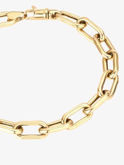 14K yellow gold Italian chain bracelet