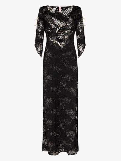 Eileen side slit maxi dress