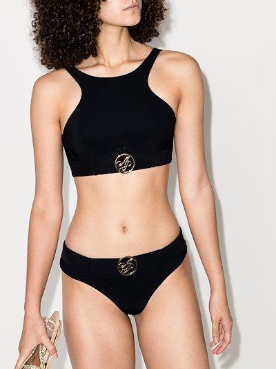 Laurella logo plaque bikini