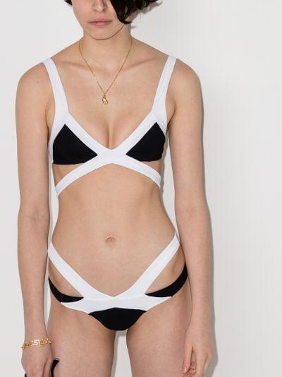 Mazzy wrap bikini top