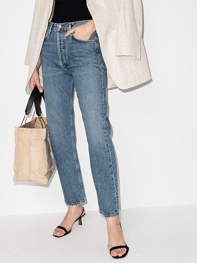 Navigate '90s straight leg jeans
