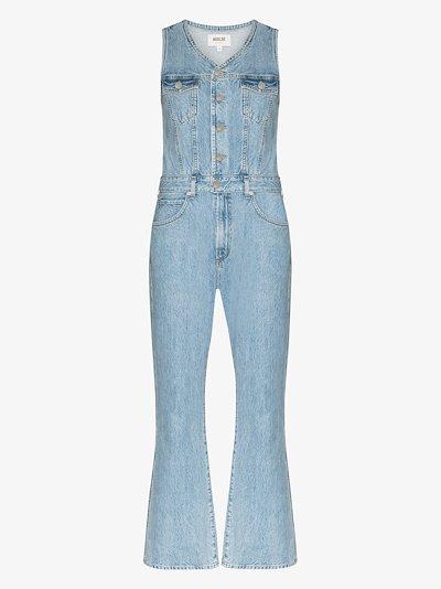 sleeveless organic cotton jumpsuit