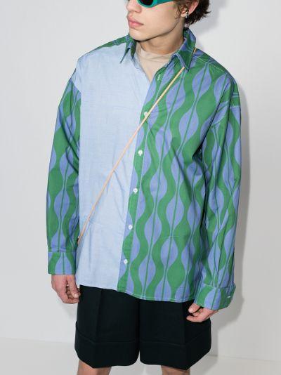Dennis wave Print Shirt