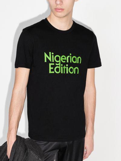 Nigerian Edition cotton T-shirt