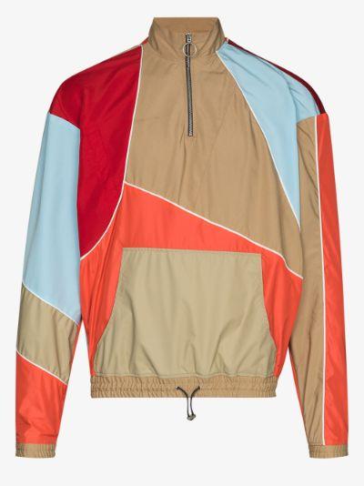 Tom patchwork track jacket