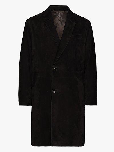 Fiore suede coat