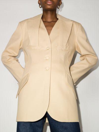 folded lapel blazer