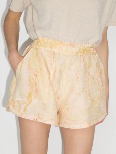 Cosmos printed shorts