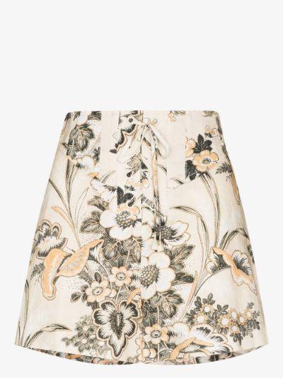 Lucinda corset high waist shorts