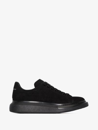 black oversized sneakers