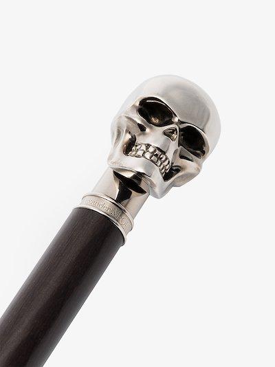 black skull umbrella