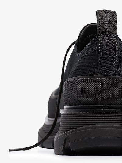 Black Tread Slick sneakers