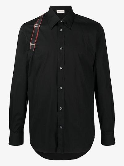 logo harness shirt