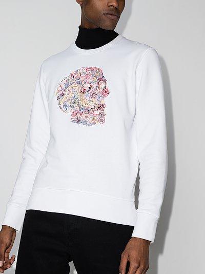 London Skull crew-neck T-shirt