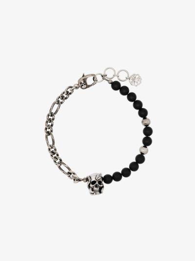 skull chain bead bracelet