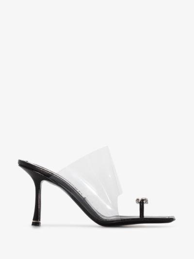 black Ivy 85 leather sandals