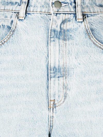 Tuxedo Side Stripe High Waist Jeans
