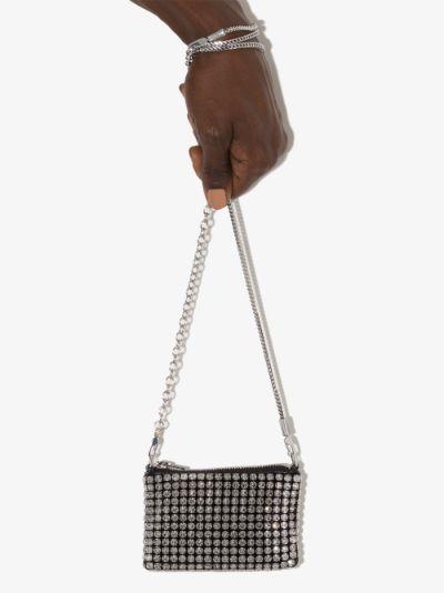 Wangloc rhinestone mini bag