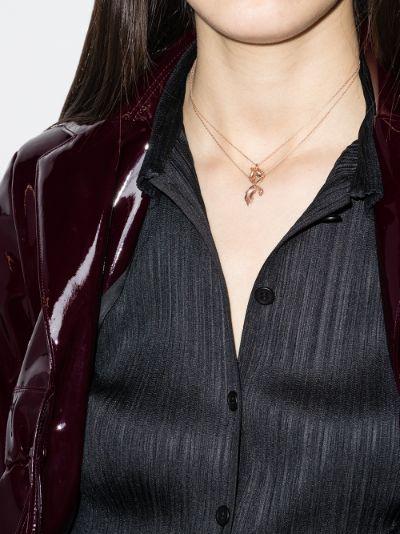 9K rose gold Odyssey necklace