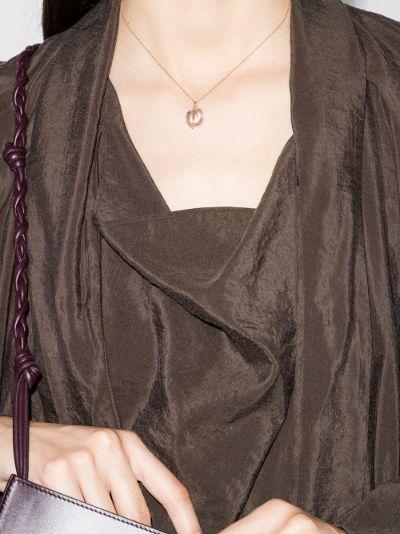 9K rose gold Sinking Stars necklace