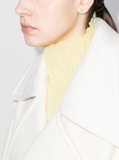 14K yellow gold Mini Puffy heart earring