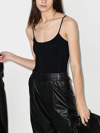 Elizabeth scoop neck bodysuit