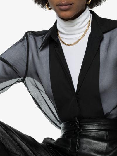 gold vermeil DNA chain necklace