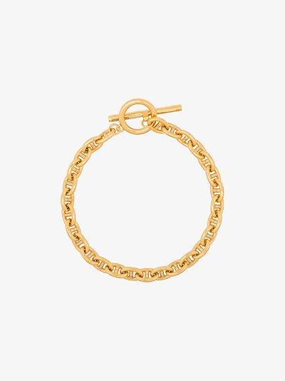 gold vermeil pill bracelet