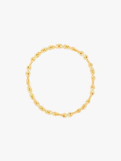 Gold Vermeil S Link Necklace