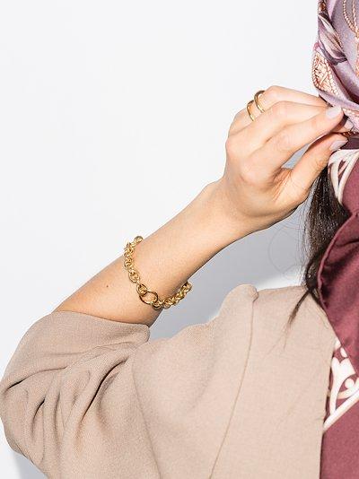 Gold Vermeil Triple Bracelet