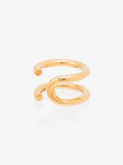 Gold Vermeil U Turn Ring