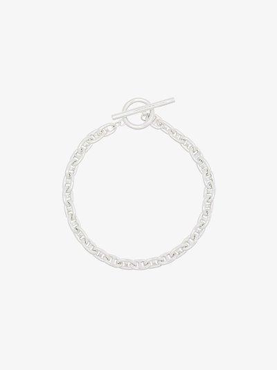 sterling silver Pill chain bracelet