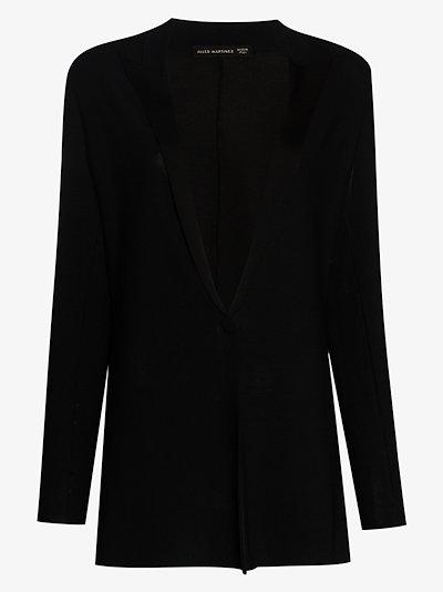 single-breasted evening jacket