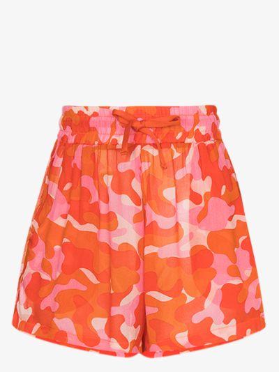 Bobby camouflage print shorts