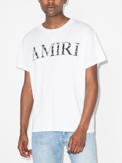 bandana logo print t-shirt