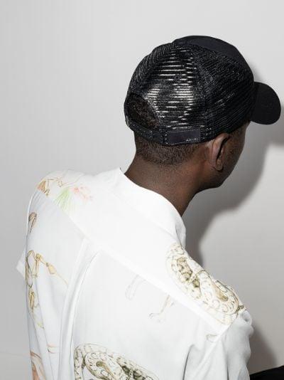 black Core logo trucker hat
