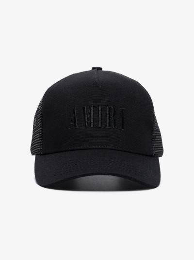 Black Core trucker logo cap